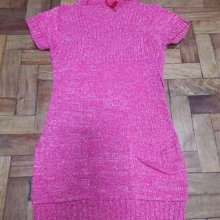 Preloved Knitted Girls Dress