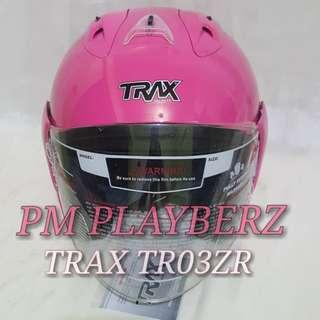 SEXY PINK TRAX TRO3ZR HELMET..!!