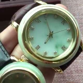 翡翠手錶,完美,做工精良,實用款,送禮首選,情侶款,特價:¥2880任選其一,不議