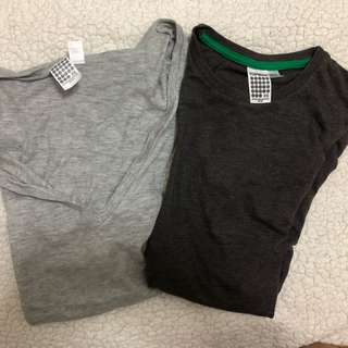 Topman VNeck and Round neck Shirt (XS) - 2 for 100