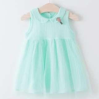 BN Baby Girl Dress tutu mesh