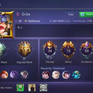 Mobile Legends Account