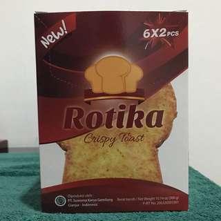 Rotika Crispy Toast (isi 6x2pcs)