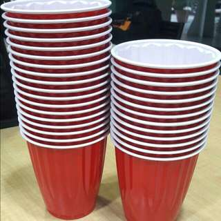6 pesos! Cheapest Kirland Red Cups Beerpong Party