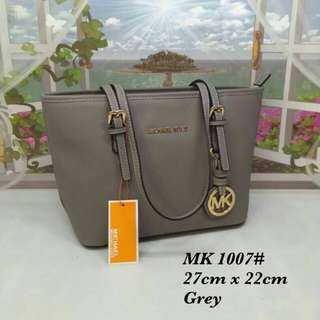 Michael Kors Tote Bag Grey Color