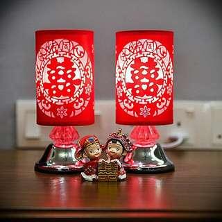Chinese Wedding Lamp