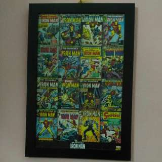 Iron Man picture Frame