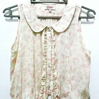 Candies Small  Floral Top