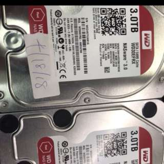 Wts wd 3tb red sata $95 with warranty 2018