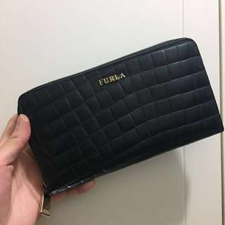 🈹Furla leather wallet