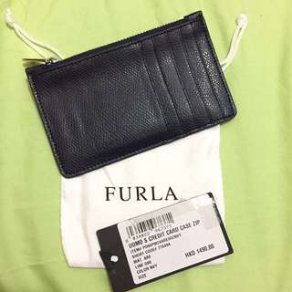 🈹60%off! 4折 Furla Navy Card Case