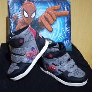 PRELOVED: Spiderman High Cut Shoes