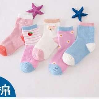 2 Sets for $6. Smile Sock. 3-5yr old