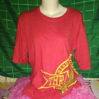 Kaos merah PTMSS #cintadiskon