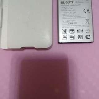 LG原裝充電器及充電池