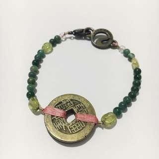 Prosperity with Peridot Bracelet