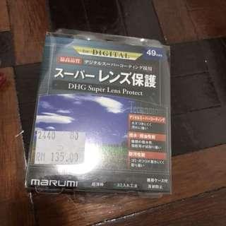 Marumi lens filter 49mm