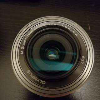 Olympus 14-42mm ez with Miyabi Ultra Slim MCUV filter