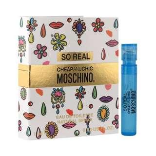 Moschino Cheap N Chic So Real EDT 1ml 試管小香 / 4.9ml 迷你香