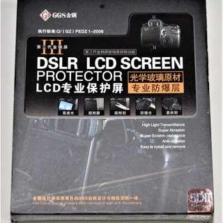 GGS III Generation DSLR LCD Screen Protector
