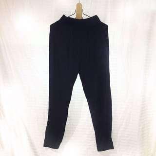 Cotton On navy blue harem pants