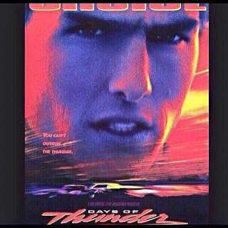 New condition, original Days of Thunder DVD: $2.50