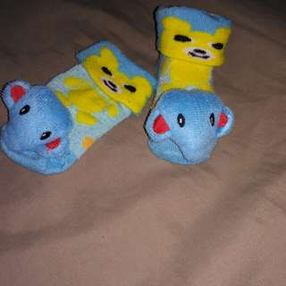 3D Blue Elephant socks