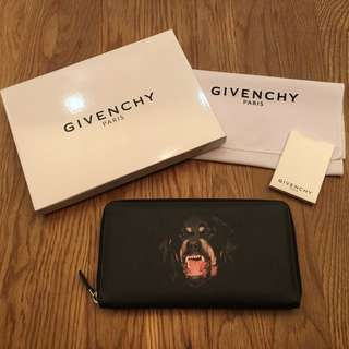 Givenchy Rottweiler organiser wallet clutch in coated canvas.. brand new!!