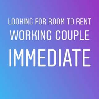 Looking for room to rent couple