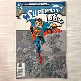 Brand new, DC comics The Adventures of Superman, Believe comic book