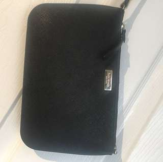 Kate spade New York black wristlet