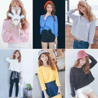 Bora's Basic Cropped Pullover