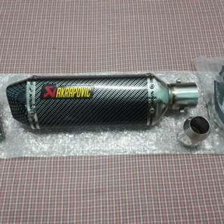 Exhaust Ekzos Akrapovic Slip On Universal