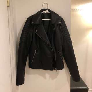 ✨M Boutique Leather Jacket (BNWT)