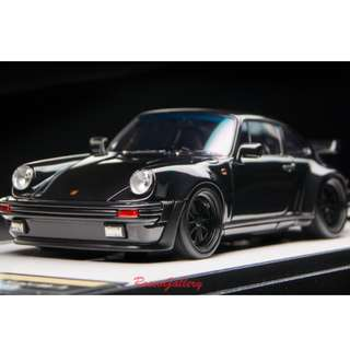 全新 1:43 Make Up Porsche 911(930)Turbo 3.3 1988 52 wheel ver. Black VM115C4