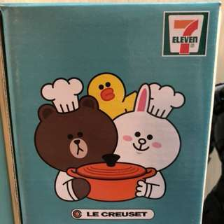 7-11 7ELEVEN LE CREUSET FOR LINE FRIEND 杯