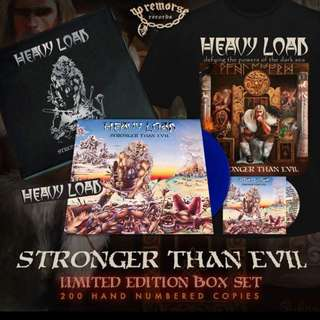Heavy Load - Stronger Than Evil Limited Box Set Vinyl Lp Records