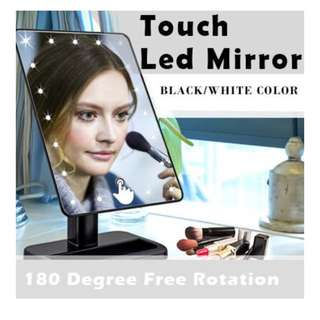 🎀 TOUCH LED MAKEUP MIRROR