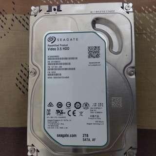 西捷2tb硬碟