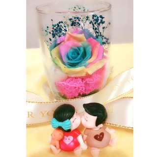 Valentine's Day Special Gift For Loved One Preserved Real Roses Flower