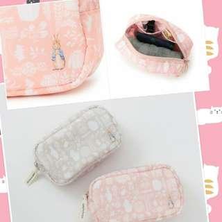 Pre order🇯🇵日本直送限定版Peter Rabbit x UNTITLED 小物*可作化妝袋OR筆袋