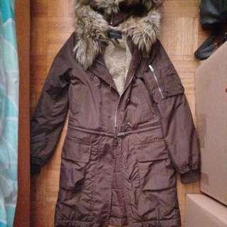 BCBG convertible coat