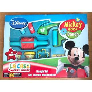 ~BNIB~ Disney Mickey Mouse Clubhouse Playdough Dough Set for Children