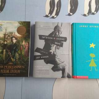 13 Reasons Why, Miss Peregrine's Home for Peculiar Children and Stargirl