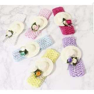 Mini Hat Headband Baby Girl / Toddler