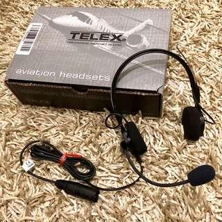 BRANDNEW TELEX AIRMAN 750 AVIATION HEADSET