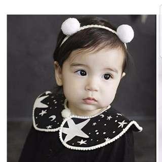 Kitty Ball Headband Baby Girl / Toddler