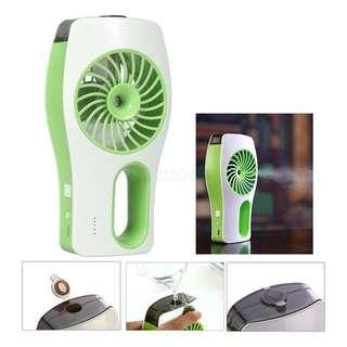 Clear stock ~ Mini Cooling Replenishment Fan/Humidifier/ Portable Misty Cooling Fan