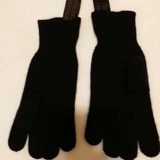 Rick Owens cashmere gloves