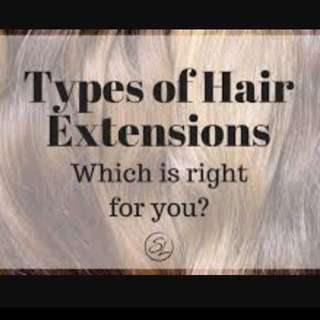 WHAT HAIR EXTENSIONS ARE BEST FOR ME?